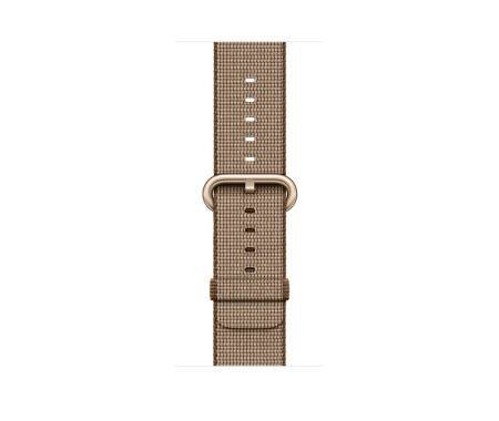 Outlet Pasek do Apple Watch 42mm Apple z plecionego nylonu - brązowy