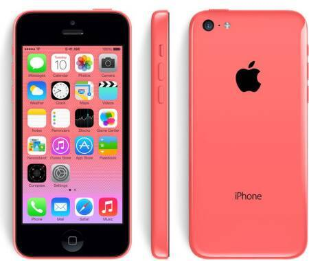 Outlet Apple iPhone 5C 16GB Różowy