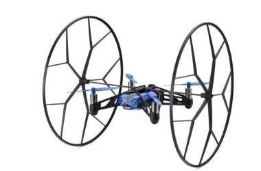 Outlet Dron Parrot Rolling Spider - niebieski Powystawowy