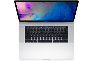 Outlet Apple MacBook Pro 15 Srebrny 2,2GHz/16GB/256GB/555X/TouchBar