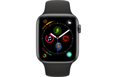Outlet Apple Watch S4 44MM  GPS  - gwiezdna szarość